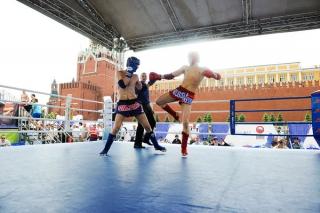 Матчевая встреча по тайскому боксу