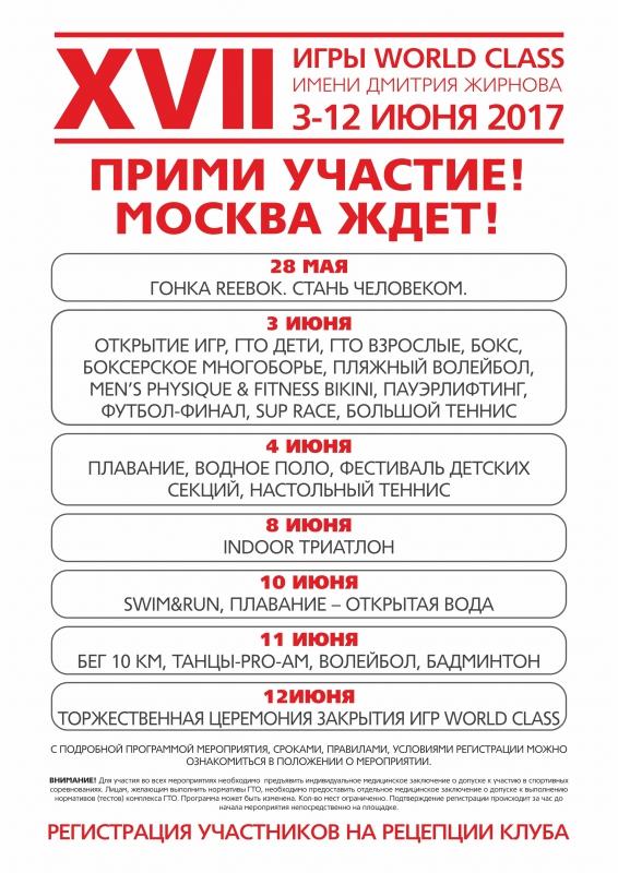 XVII Игры World Class имени Дмитрия Жирнова