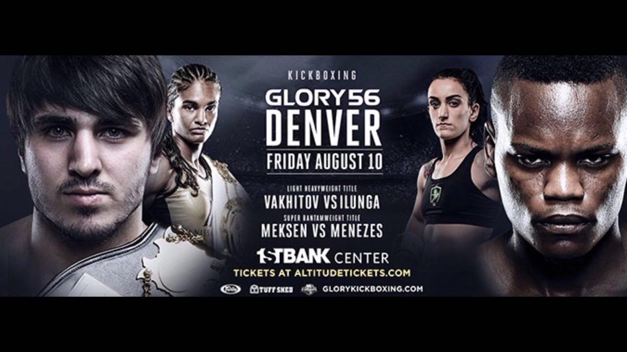 GLORY 56 Denver: Vakhitov vs Ilunga