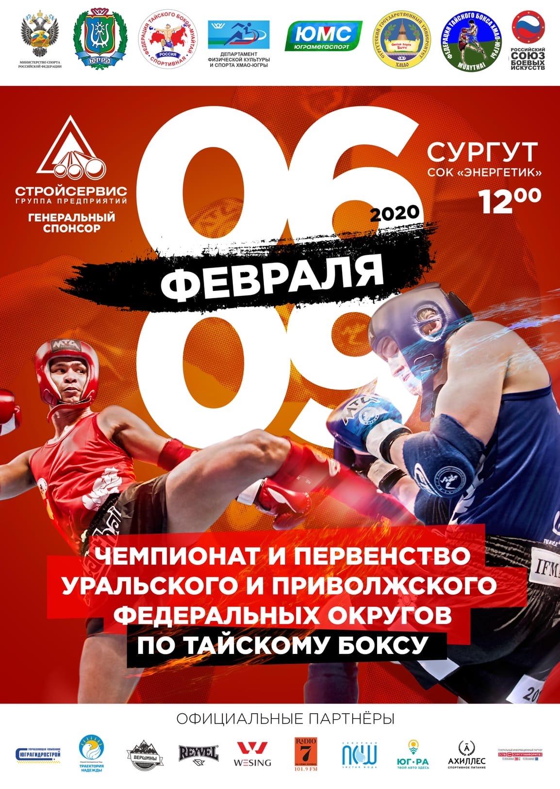 Чемпионат и Первенство УрФО и ПФО 2020